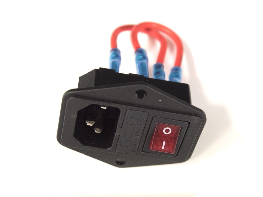 SWITCH + IEC POWER WPL 1 A + WPL 5A + WPL IN A