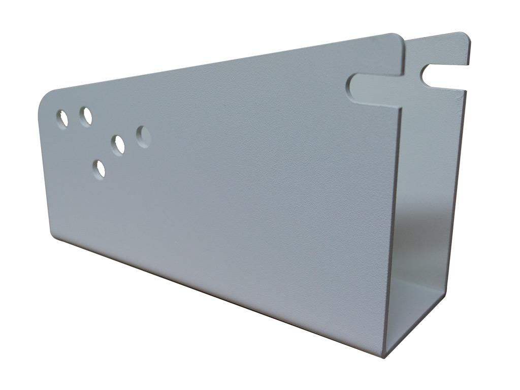 UDA 16 SOPORTE PARED SIMPLE GRANDE BLANCO