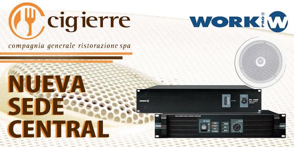 La nueva sede central de Cigierre cuenta con los sistemas WORK PRO