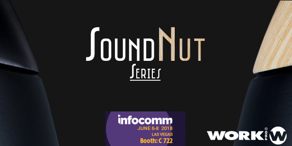 WORK PRO introduced at InfoComm 2018 the SoundNut series