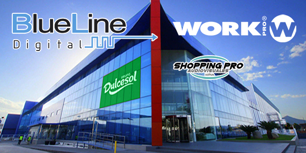Grupo Dulcesol chooses WORK PRO BlueLine system for the renovation of its new facilities