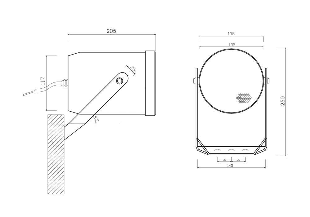 CS 306 T Dimensiones