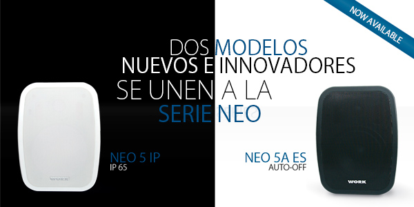 NEO Series, complemented with 2 innovative solutions