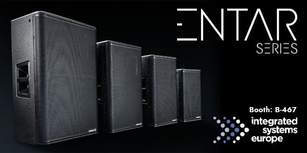 WORK PRO Audio lanza la serie ENTAR