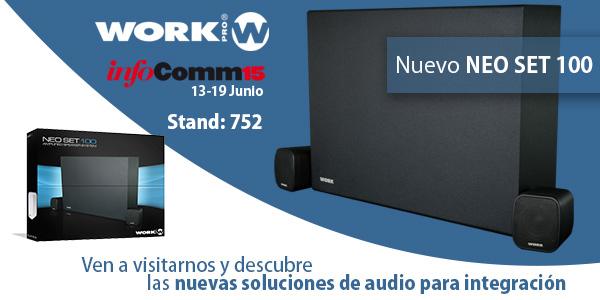 WORK PRO lanza nuevas soluciones de audio para instalación en InfoComm'15