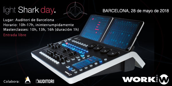LightShark Day, 28th May 2018, Barcelona.