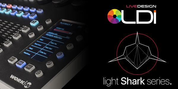 WORK PRO unveiled LightShark range at LDI 2017