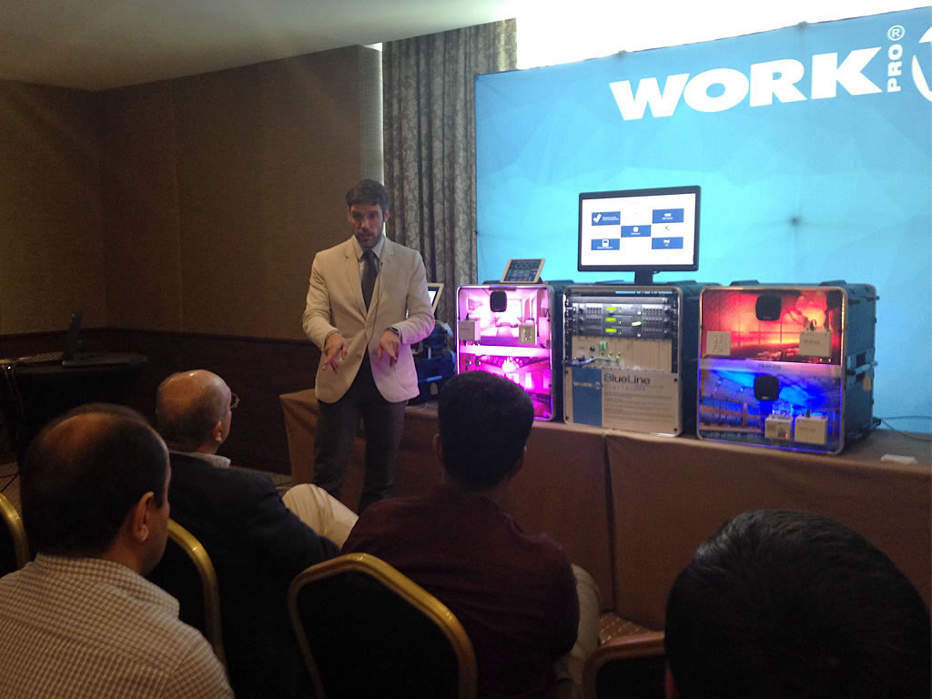 lunch and learn technology from Spain in Dubai WORK Pro