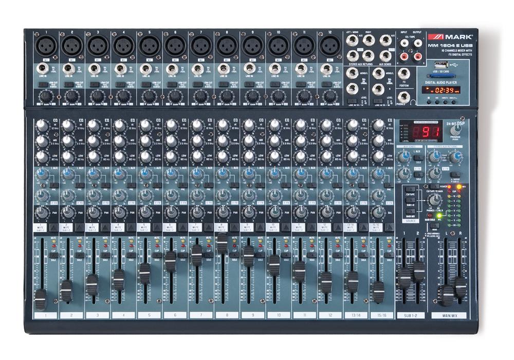 MM 1604 E USB