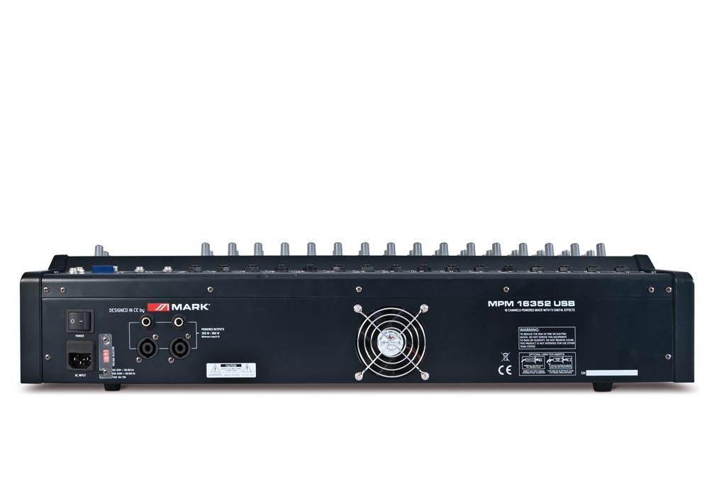 MPM 16352 USB Trasera