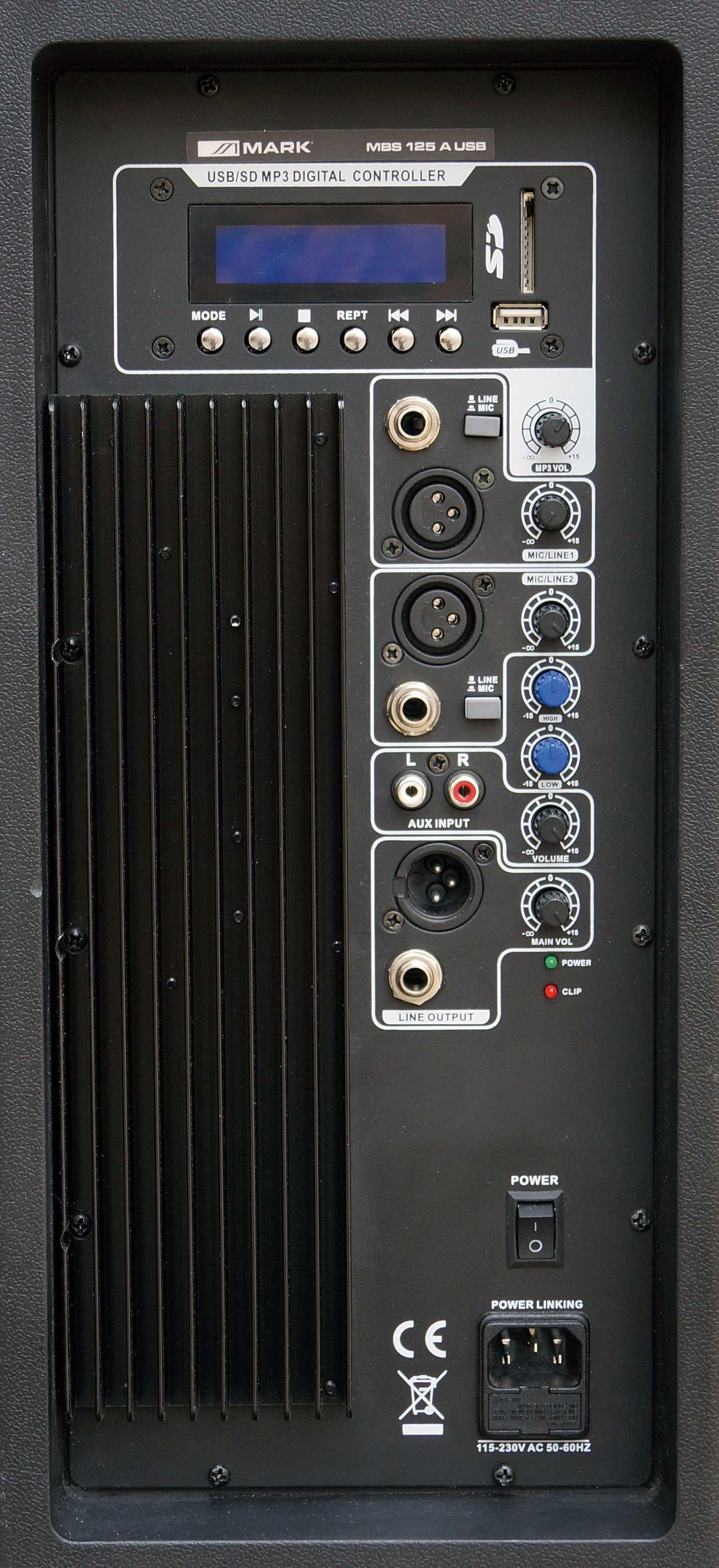 MBS 125A USB Trasera