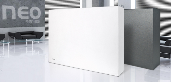 Self-powered subwoofer NEO S8 A is now also available in white finish