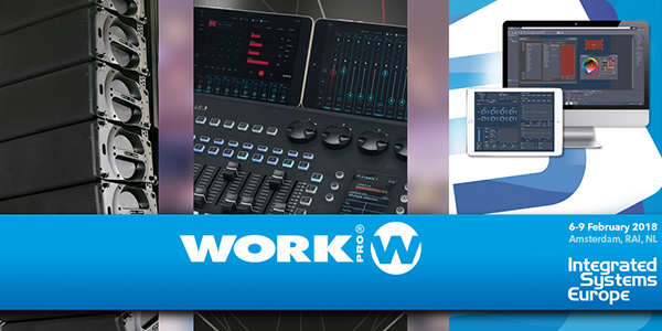 WORK PRO was present at ISE 2018