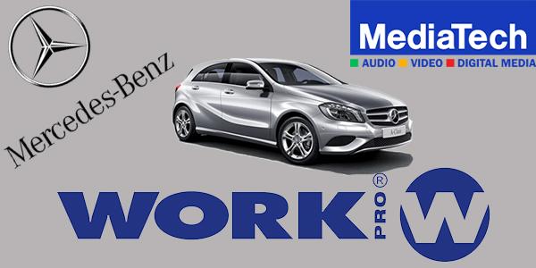 WORK PRO en la sede eslovaca de Mercedes-Benz.