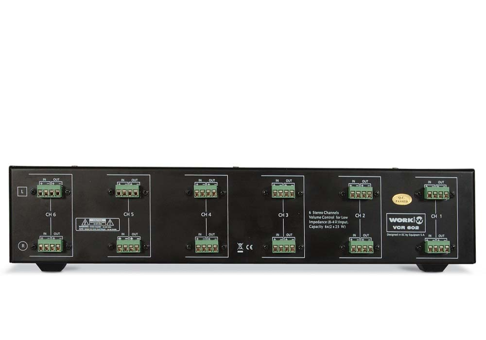 VCR 601 Trasera
