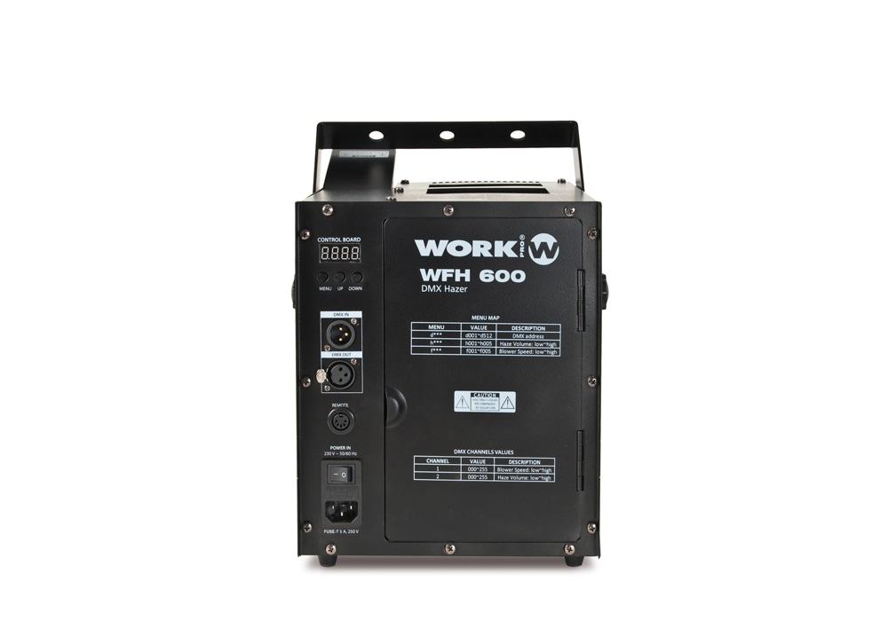 WFH 600 Vista trasera