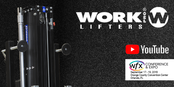 WORK PRO LIFTERS en WFX conference & Show.