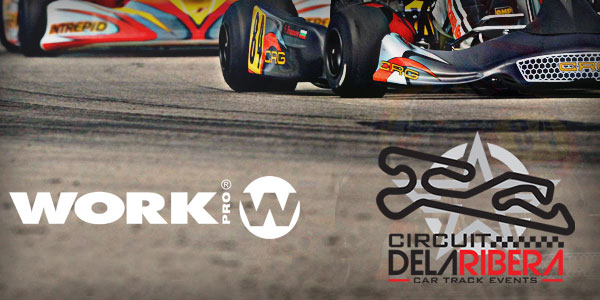 WORK PRO sounds at Circuit de la Ribera