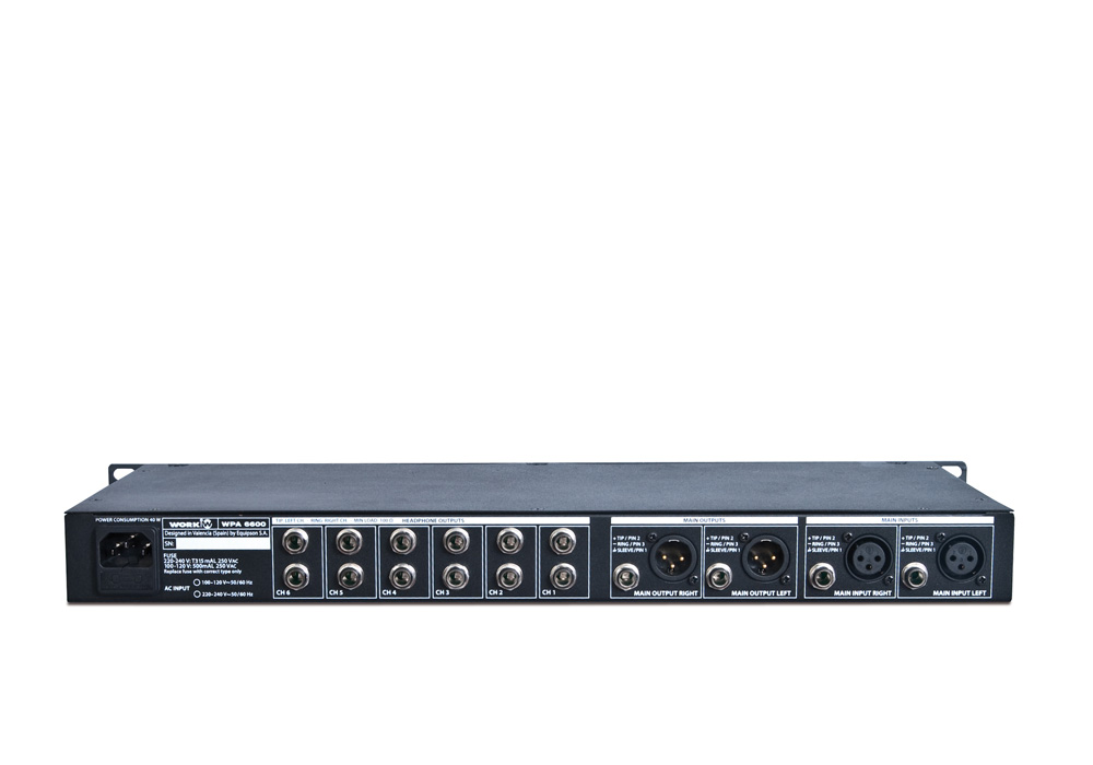WPA 6600 Trasera
