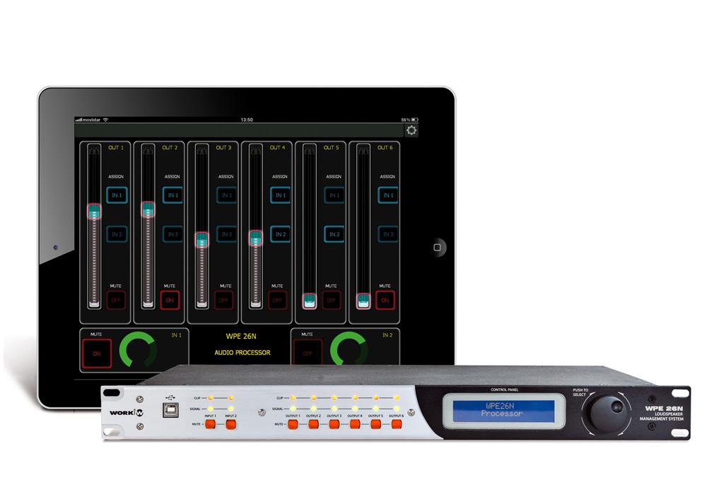 WPE 26N con iPad