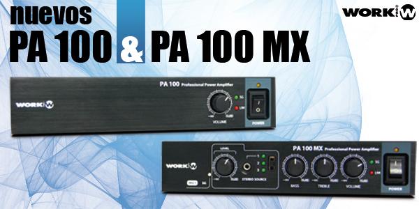 Nuevos PA 100 & PA 100 MX