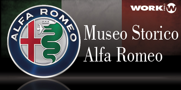 WORK PRO at Historic Alfa Romeo's Museum