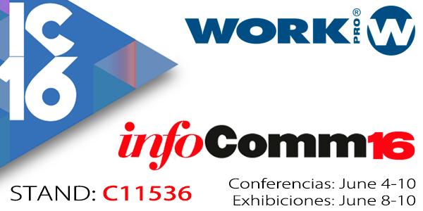 WORK PRO at InfoComm 2016 - LAS VEGAS