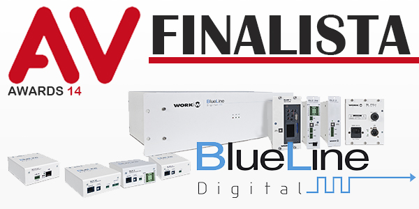 BlueLine Digital System, finalist for the AV Awards 2014