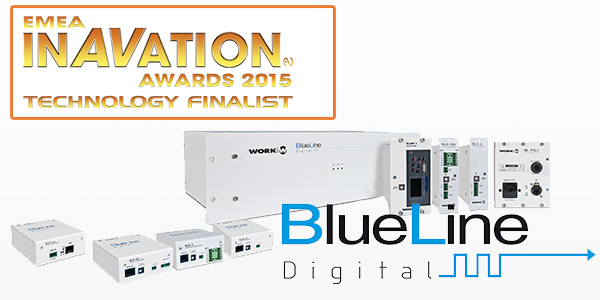 InAVation Awards 2015 recognise the innovation in BlueLine Digital System