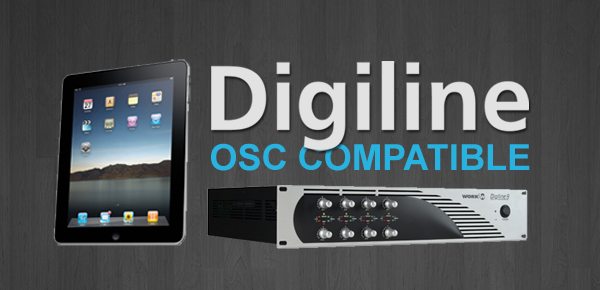 Digiline series now can be controlled by mobile devices using OSC