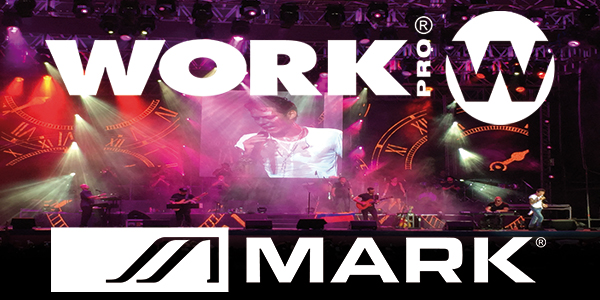 WORK PRO and MARK in Marc Anthony's tour