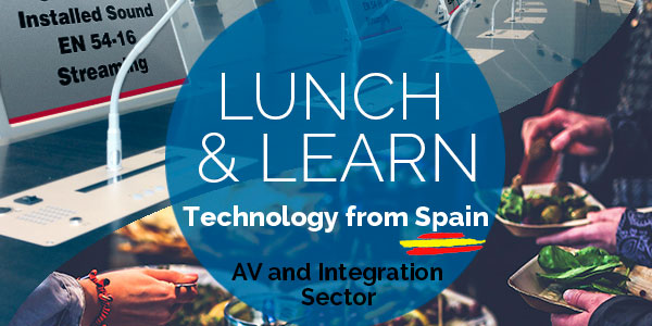 WORK PRO invites you to Lunch and Learn, event about AV solutions and integration