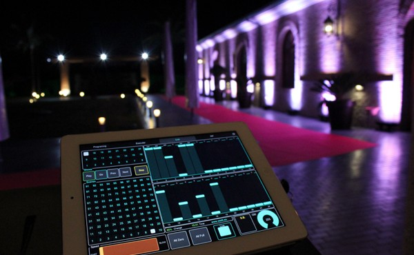 LightMouse 5 to control the lighting of the 2012 edition of the gala of Mapfre