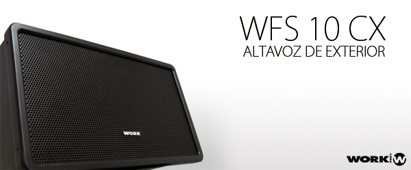 WFS 10 CX - OUTDOOR SPEAKER