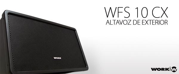 WFS 10 CX - ALTAVOZ DE EXTERIOR