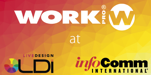 WORK PRO through WORK PRO AMERICA at the best INTERNATIONALS TRADE SHOWS